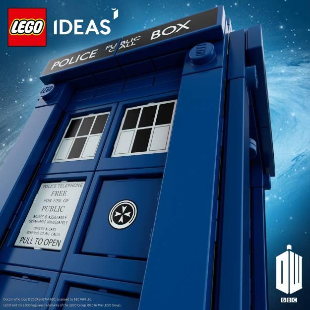 Offizielles Primo-Bild vom LEGO Ideas Doctor Who Set