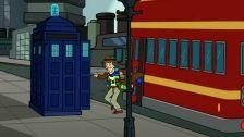 """Doctor Who in """"Futurama""""."""