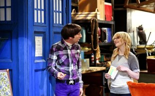 "Doctor Who in ""The Big Bang Theory""."